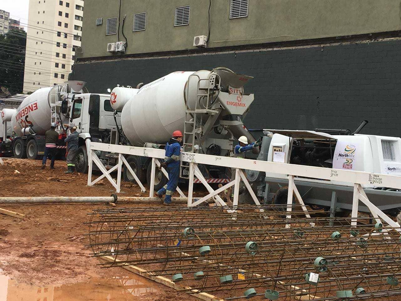 Bombeamento de concreto Barueri
