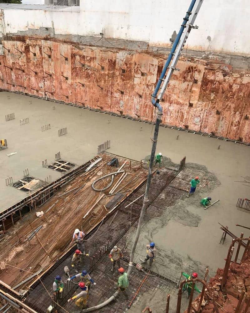 Bombeamento de concreto osasco