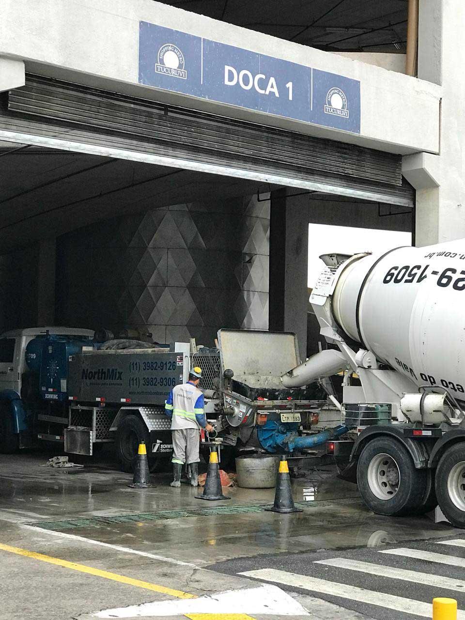 Bombeamento de concreto sp