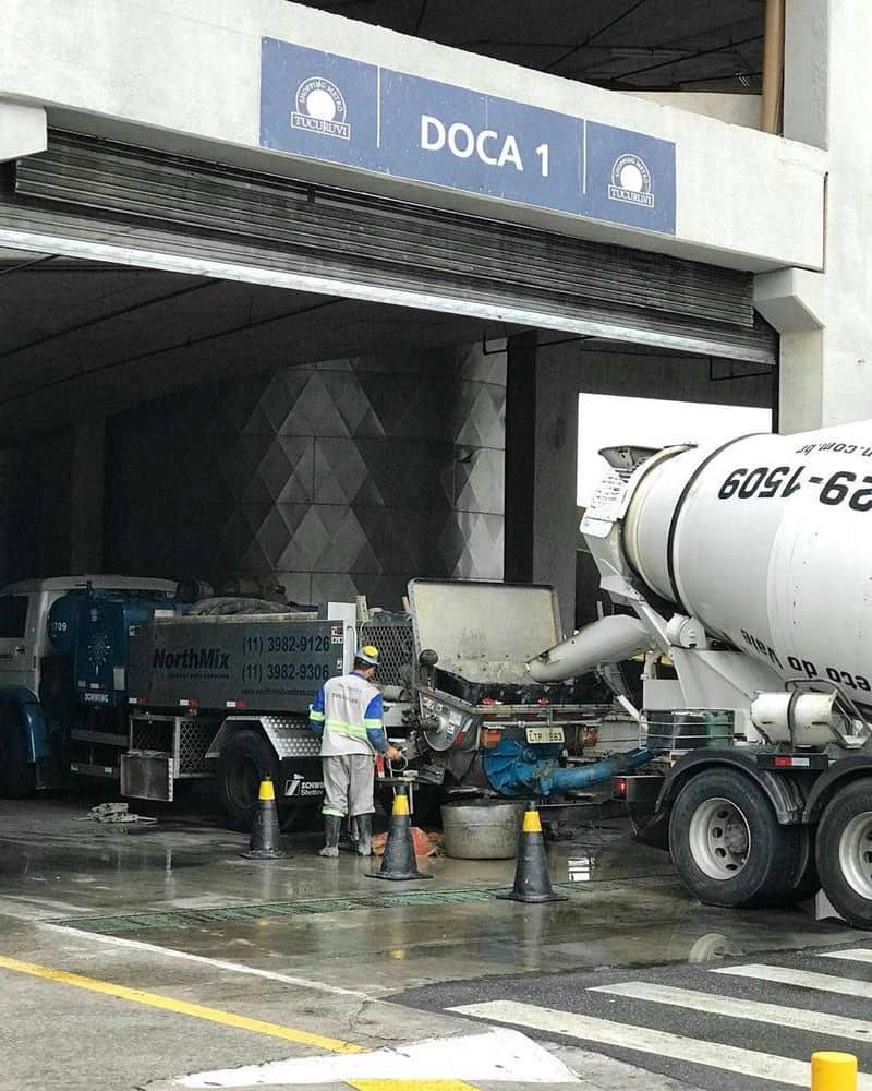 Bombeamento de concreto zona sul sp