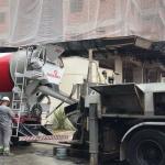 Serviço de bombeamento de concreto